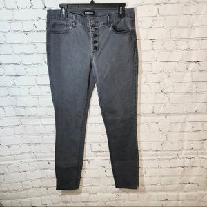 Express grey wash jeans